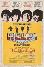 HELP vintage movie poster THE BEATLES MUSIC 1965 mccartney lennon 24X36 GEM