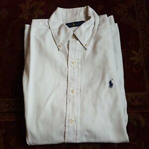 Ralph Lauren Men's White Classic Fit Shirt 15.5 Medium / 1st