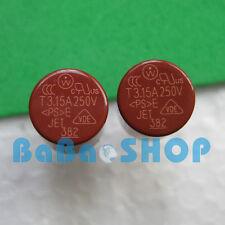 6pcs T3.15A 250V 3.15A TR5 Miniature Slow Blow Micro Sub Min Fuse Brand New