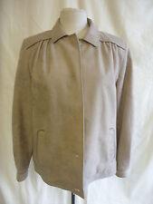 """Mesdames manteau-Dannimac, buste 40"""", taupe couleur, polyester toucher doux, utilisé 7714"""