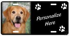 Golden Retriever #3    Personalized Pet License Plate
