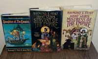 SIGNED The Empire Trilogy by Janny Wurts and Raymond E. Feist, 1987, HC, 1st/1st