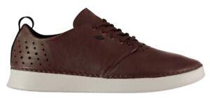 Boxfresh Men's Karaal Uh Leather Sneaker Shoe Braun White all Sizes New