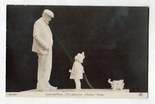 "ART - SCULPTURE Salon de Paris / ENFANT & JOUETS ""GRAND PERE"" par A.E. JACOPIN"