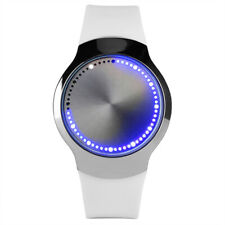 Men's Fashion LED Sport Watches Digital Touch Screen Silicone Wrist Watch