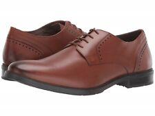 Hush Puppies Men's Advice PT Derby Dress Shoes Size 9W Cognac Leather, MSRP $99.