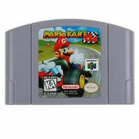 ✅ Mario Kart 64 Video Game Cartridge Console Card US Version For Nintendo N64