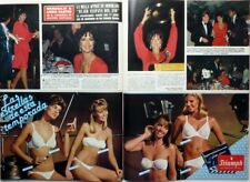 LYNDA CARTER => 2 pages 1983 vintage SPANISH CLIPPING !!! FREE SHIPPING