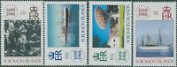 Solomon Islands 1988 SG636-639 Lloyds List set MNH