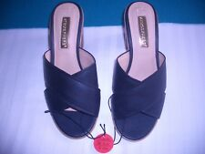 Black Block Heel, Size 3, Atmosphere, slip on shoes brand new Excellent Conditon