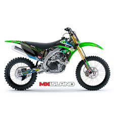 2009 2010 2011 KXF 450 GRAPHIC KIT KAWASAKI MOTOCROSS DIRT BIKE KX450F DECALS