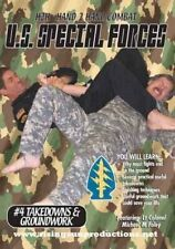 Us Special Forces H2H Takedowns Locks Arm Bars grappling Dvd Foley mma