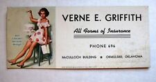 Vintage Earl Moran Pin Up Blotter Raises the Dough