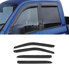 4pcs For 01-03 Ford F-150 SuperCrew Cab Sun Rain Guard Vent Shade Window Visors