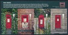 2009 GB POST BOXES (1st series) MINI SHEET FINE MINT MNH SG MS2954
