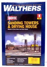 N Scale Walthers Cornerstone 933-3813 Sanding Tower & Drying House Building Kit