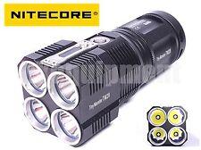 NITECORE TM28 QuadRay 4x Cree XHP35 HI 6000lm Flashlight+Charger