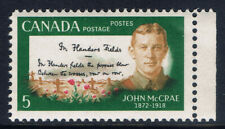 Canada #487(1) 1968 5 cent IN FLANDERS FIELD by JOHN McCRAE MNH