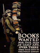 Propaganda De Guerra Primera Guerra Mundial Libro De Caridad soldado Rifle Pistola Biblioteca posterprint BB7050B