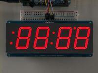 Adafruit 16x24 Red LED Matrix Panel Chainable HT1632C Driver ADA555