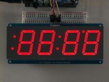 """Adafruit 1.2"""" 4-Digit 7-Segment Display w/I2C Backpack - Red [ADA1270]"""
