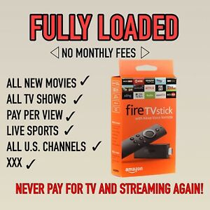 *NEW* FL Amazon Firestick Lite I New Movies + LIVE TV |