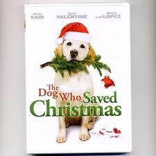 Dog Who Saved Christmas movie, new DVD Labrador Retriever Dean Cain, Mario Lopez