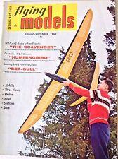 Flying Models Magazine The Scavenger , Hummingbird September 1962 082317nonrh