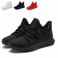 FASHION Men's Shoes Running Man Sneakers Mesh Sports Casual Athletic Sho