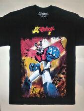 Mazinger Z T-Shirt Rare Embroidered Logo Manga Anime Tranzor Great Super Robot