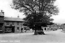 Hcl-98 The High Street, Ramsbury, Wiltshire 1930's. Photo
