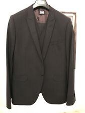 D&G, Dolce & Gabbana 'Brad' Suit, Black, Size 50