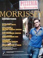 Morrissey 2006 Advert Uk Concert Tour ringleader of the tormentors The Smiths