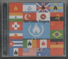 STIFF LITTLE FINGERS FLAGS & EMBLEMS CD F.C. SIGILLATO!!!