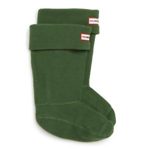 Hunter Big Girls Fleece Welly Original Boot Socks Green Size XL 5913