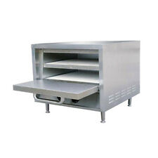 """Adcraft PO-18 23"""" Stackable Deck-Type Pizza Oven"""