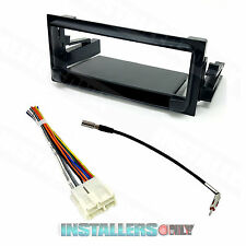 Aftermarket Chevrolet Single-Din Radio Install Dash Kit w/Wires Car Stereo Mount
