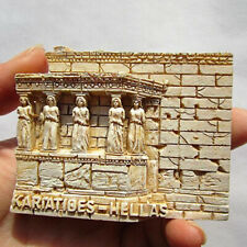 Greece Athens Fridge Magnet 3D Resin  Refrigerator Sticker Travel Souvenir Decor