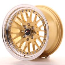 Japan Racing JR10 Alloy Wheel 15x8 - 4x100 / 4x114.3 - ET15 - Gold