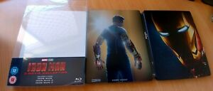 STEELBOOK: IRON MAN- 3 MOVIE COLLECTION-embossed cover
