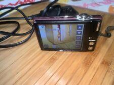 NIKON COOLPIX S4000 12.0 Mega Pixels Purple Digital Camera w battery and charger