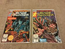 Blade Runner - Issues 1 & 2 Complete - Marvel Comics 1982 Vg to Fine
