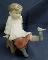 Lladro choir boy TALK TO ME model 5987 produced between 1993-1998