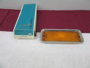 NOS 1973 1974 Blazer Jimmy LH Turn Signal/Park Lamp LENS GM 5965287 dp
