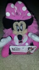"NWT Disney Minnie Mouse Hideaway Friend Pillow Pets Mini Travel 5"" Stuffed Plush"