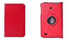 "FUNDA PARA TABLET LG G PAD 8"" 8.0  V480 V490 GIRATORIA 360º COLOR ROJO"