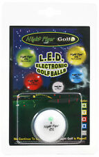 GREEN Night Flyer CL LED Light Up Golf Ball | Electronic Lighted Glow Ball