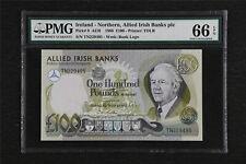1988 Ireland Northern Allied Irish Banks Plc 100 Pounds Pick#9 PMG 66 EPQ UNC