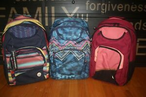 New with Tag Roxy Shadow Swell Backpack Day bag School Bag SHIP FREE FAST US