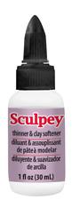 Sculpey POLYMER CLAY Liquid Softener Conditioner 1 oz Soft Polyform Modeling